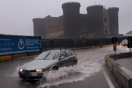 Maltempo in Campania: oggi massima allerta