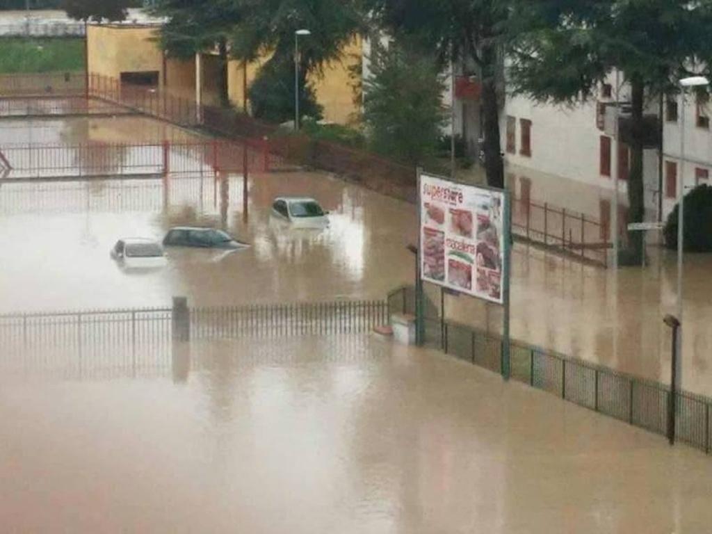 Maltempo nel Beneventano: la Protezione Civile conta i danni