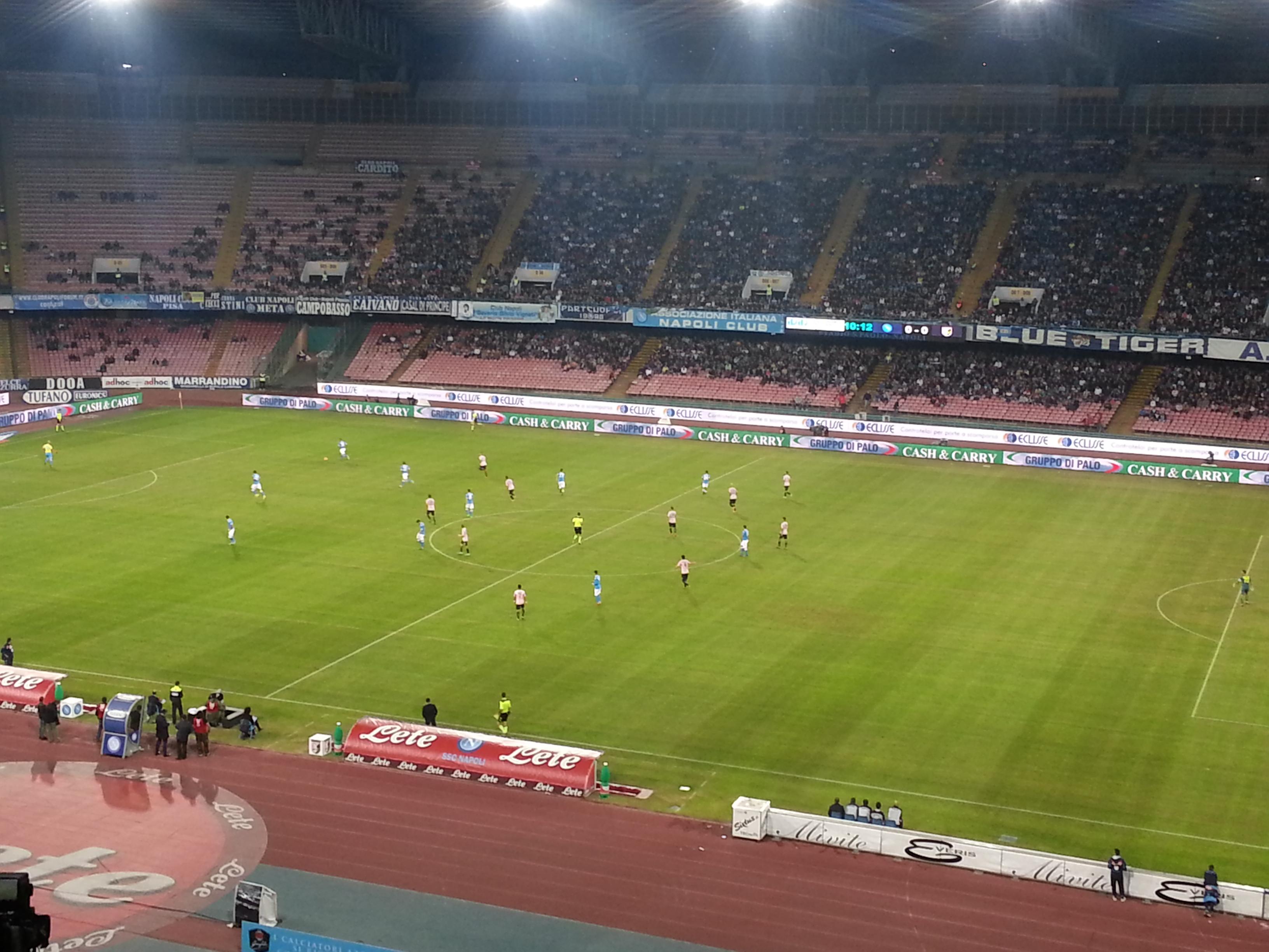 Napoli Palermo 2-0, Higuain indemoniato!