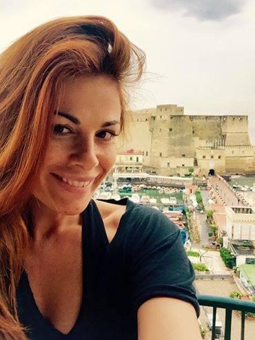 Vanessa Incontrada arriva a Napoli: