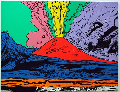 Vesuvius di Andy Warhol: sarà venduto all'asta lasciando la città di Napoli