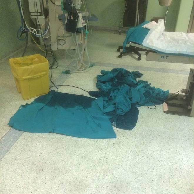 Chiusa la sala operatoria per maltempo: allagato il San Paolo