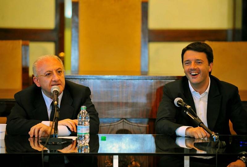 De Luca incontra Renzi, risorse per Bagnoli e Terra Fuochi