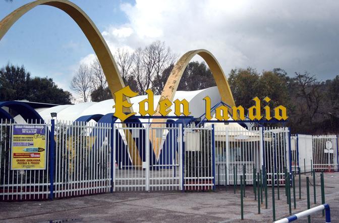 Edenlandia, ancora nulla sull'apertura. I lavori di restauro procedono