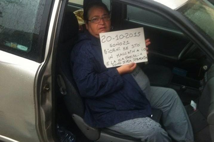 Famiglia Raiano, il dramma di chi vive in auto da 20 giorni