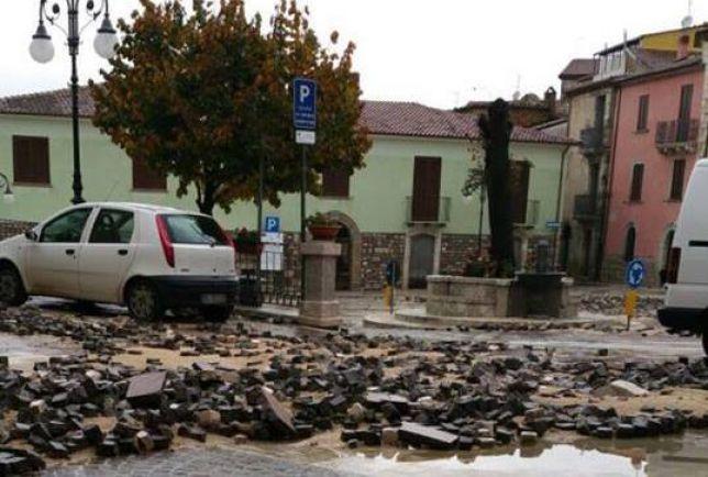 Maltempo in Campania: prorogata criticità arancione