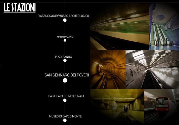 Metro Sanità, studiato un progetto per collegare i musei