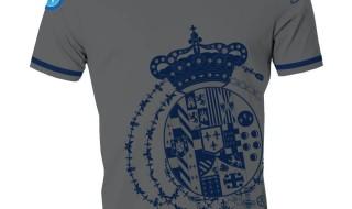 Maglia del Napoli, da passeggio, con stemma borbonico