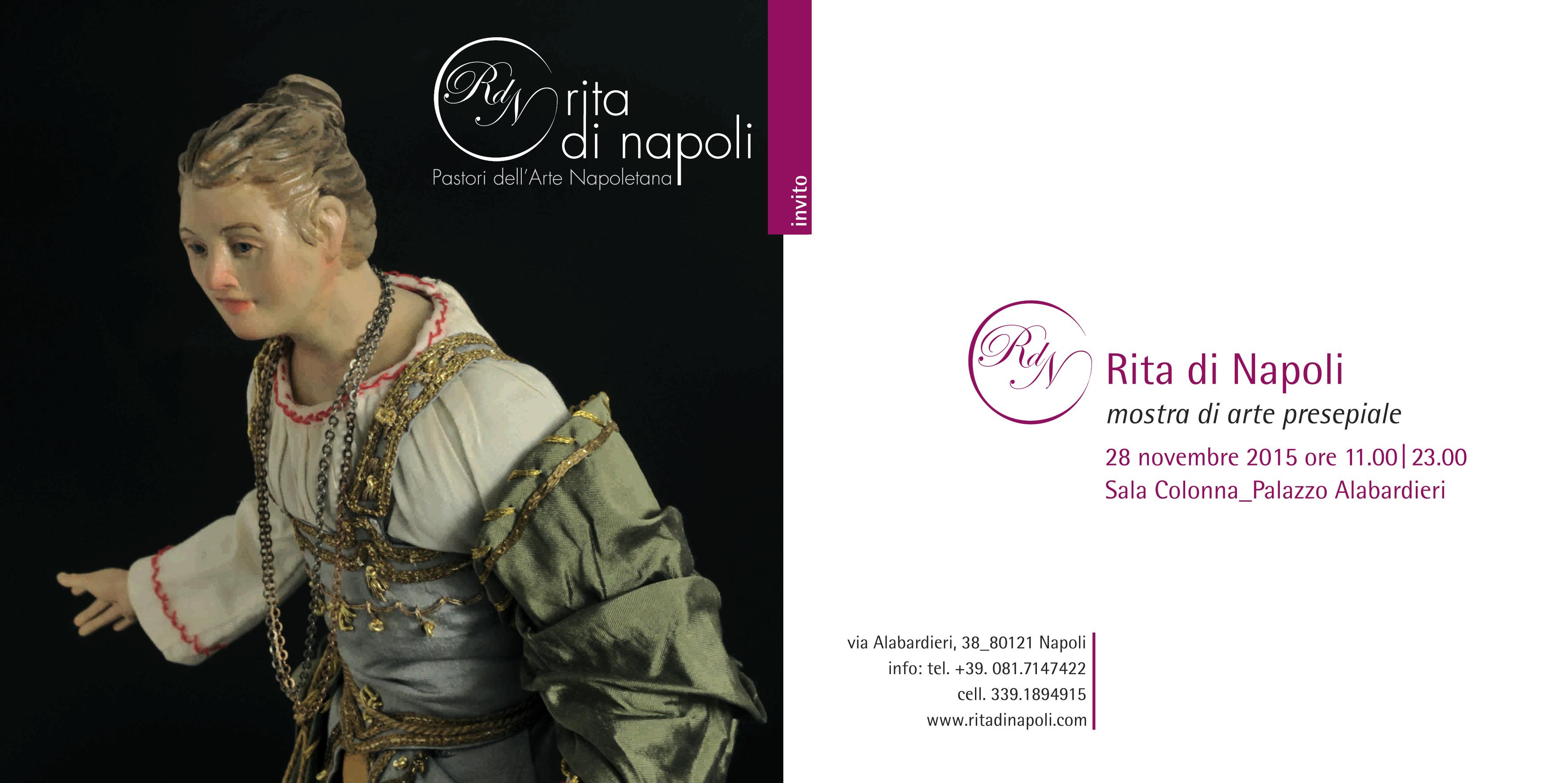 I presepi di Rita di Napoli al Palazzo Alabardieri