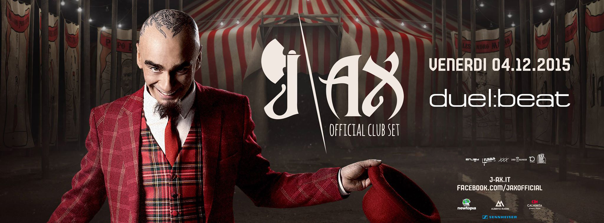 J-Ax al Duel Beat il 4 dicembre