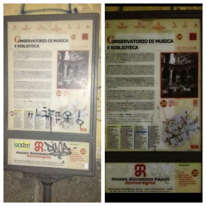 Operazione Luce nel Centro Storico: volontari di Sii Turista della Tua Città ripuliscono Napoli