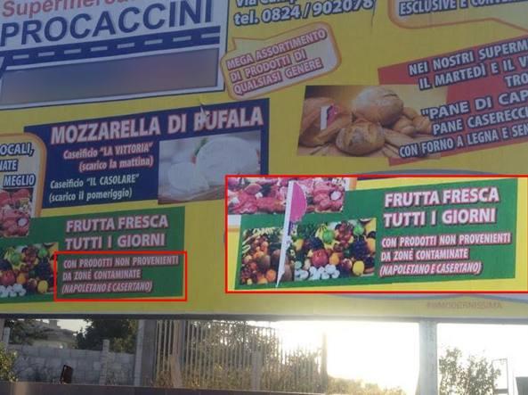 Supermercati Procaccini: Non si vendono prodotti provenienti da Napoletano e Casertano, la protesta dei Verdi