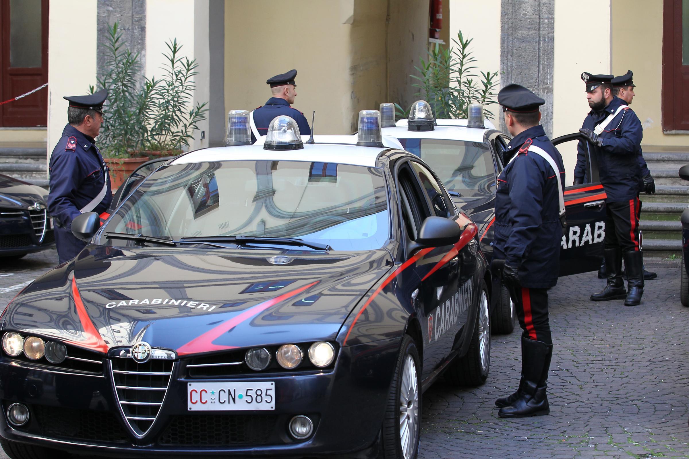 Furti e rapine in Campania, nove arresti