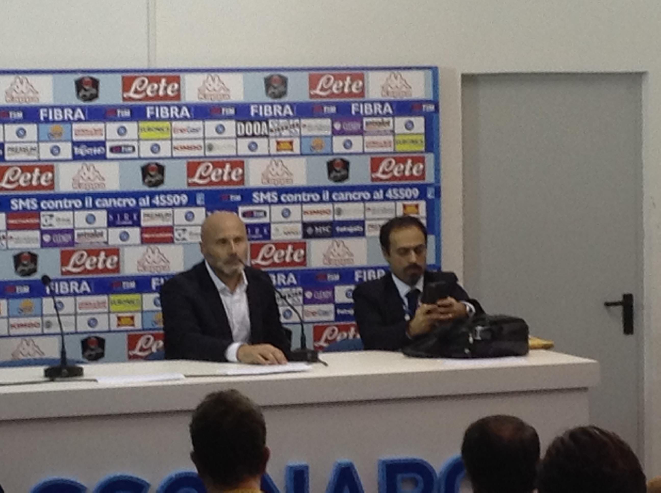 """Colantuono: """"Siamo fra quelli che hanno giocato meglio a Napoli"""""""
