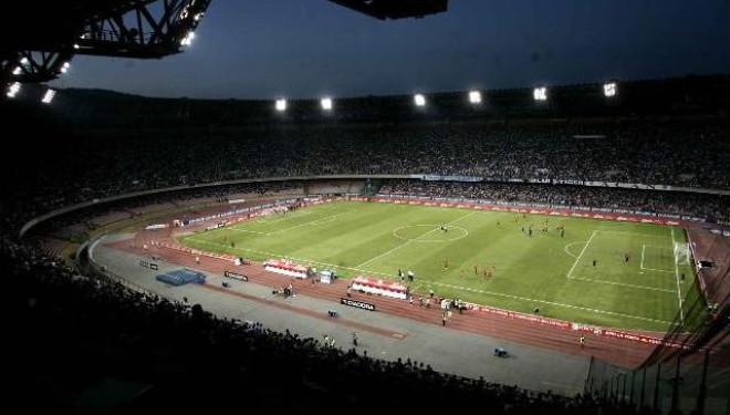 Stadio San Paolo blindato in occasione di Napoli-Inter