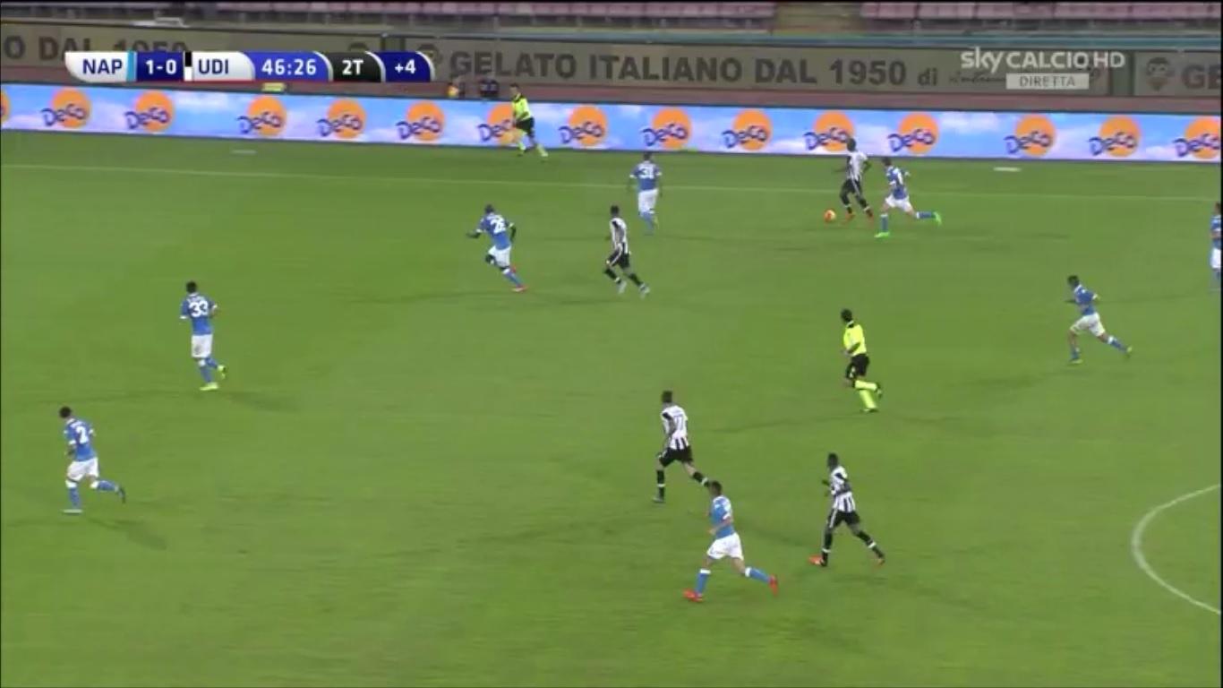 Napoli-Udinese, denunciate 24 persone presenti al San Paolo