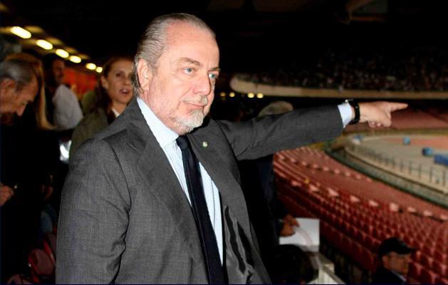 "Stadio San Paolo, De Laurentiis: ""Resta un cesso"""
