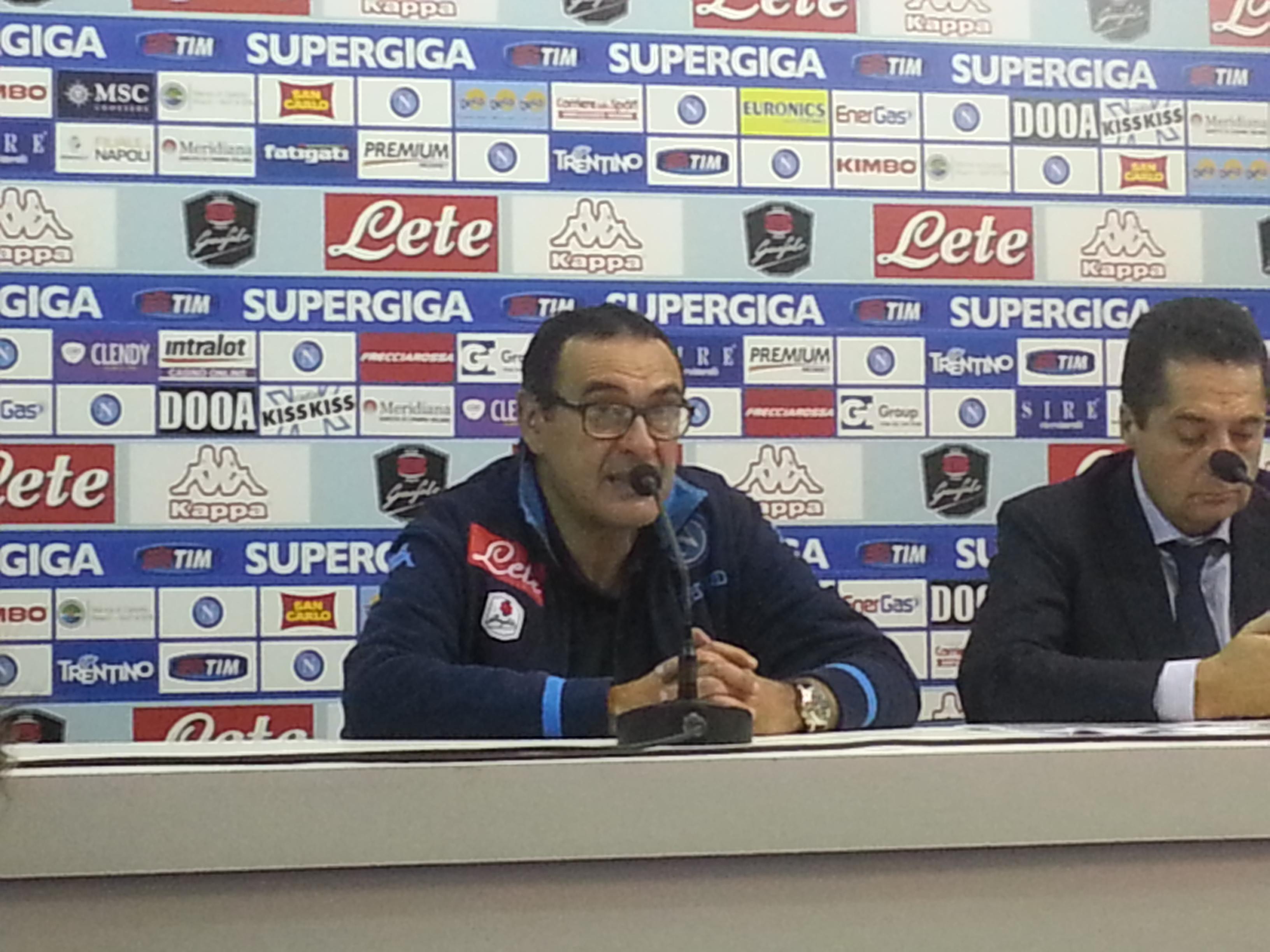 """Sarri: """"Higuain deve puntare al Pallone d'oro"""""""