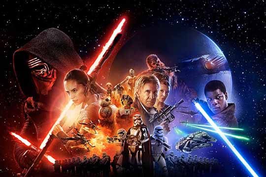 "Star Wars a Napoli: al ""The Space"" proiettato in 11 sale e ad Afragola nella sala ""Imax"""