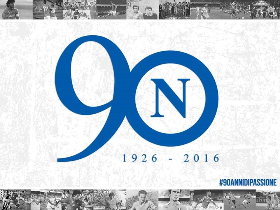 Il Napoli lancia l'hashtag #90annidipassione per chiedere ai tifosi come festeggiare il compleanno del 1 agosto