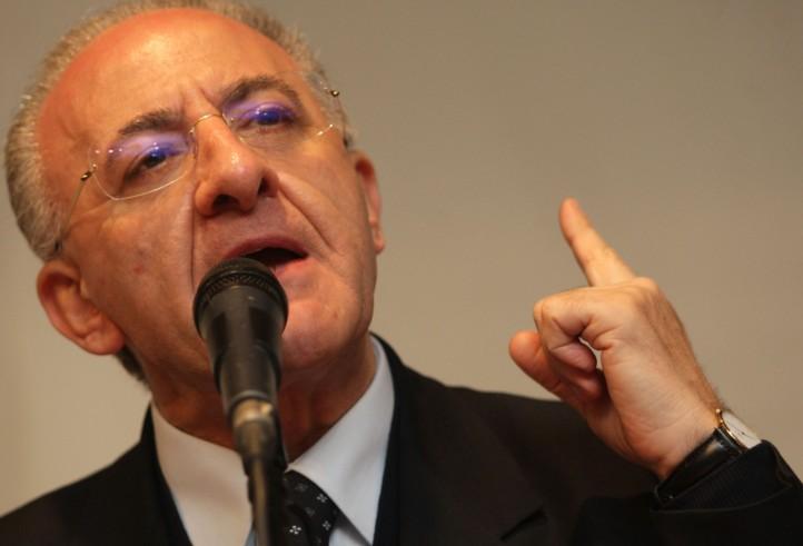"""De Luca: """"La Regione dovrà avere sviluppo equilibrato in tutti i suoi territori"""""""