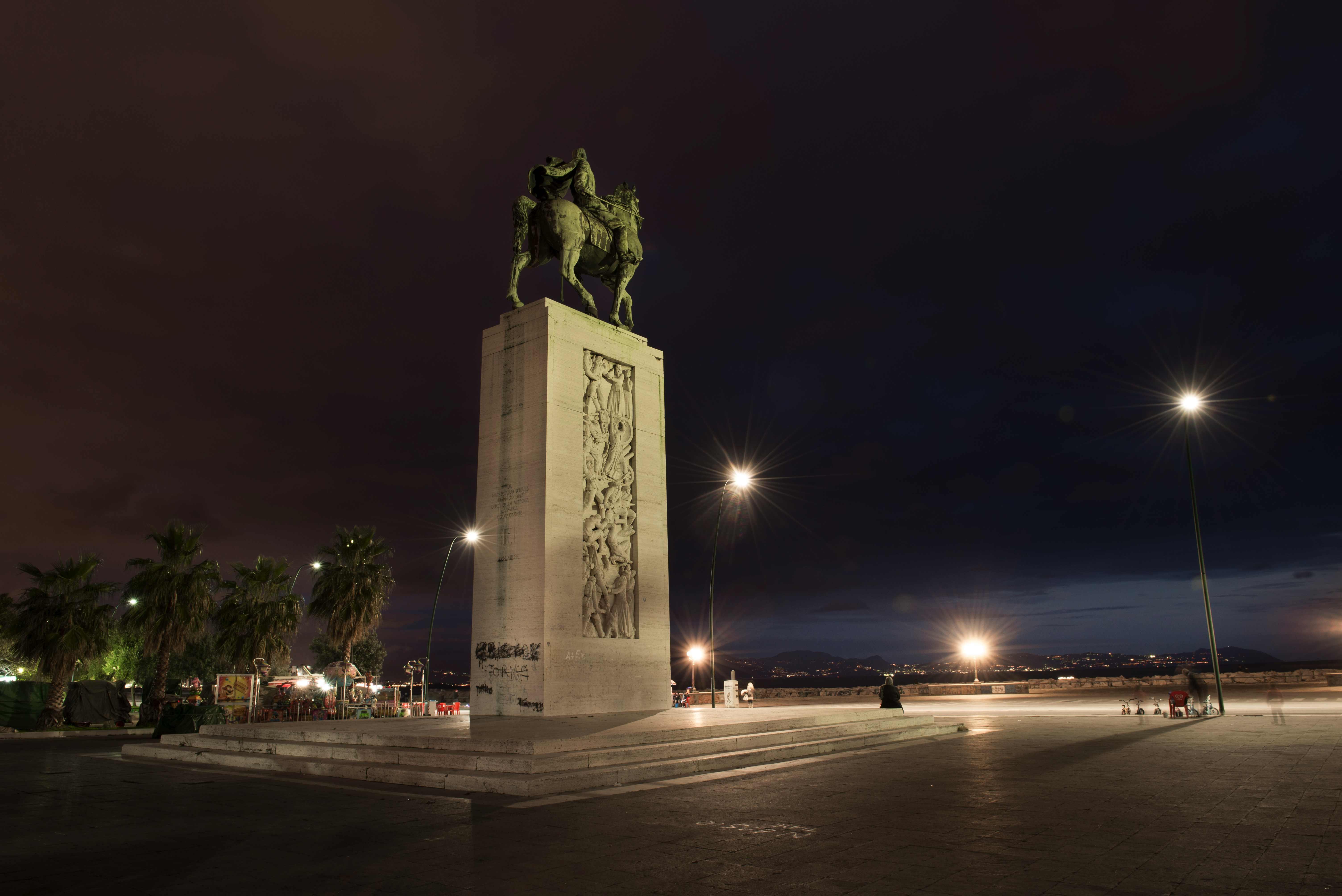 Il monumento di Diaz verso il restauro