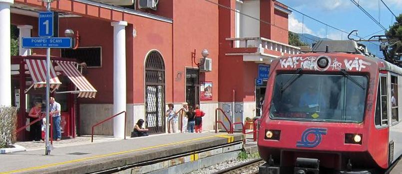 Il Comune dice no alla nuova stazione di Pompei