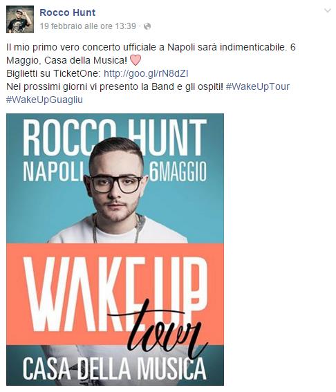 Rocco Hunt facebook