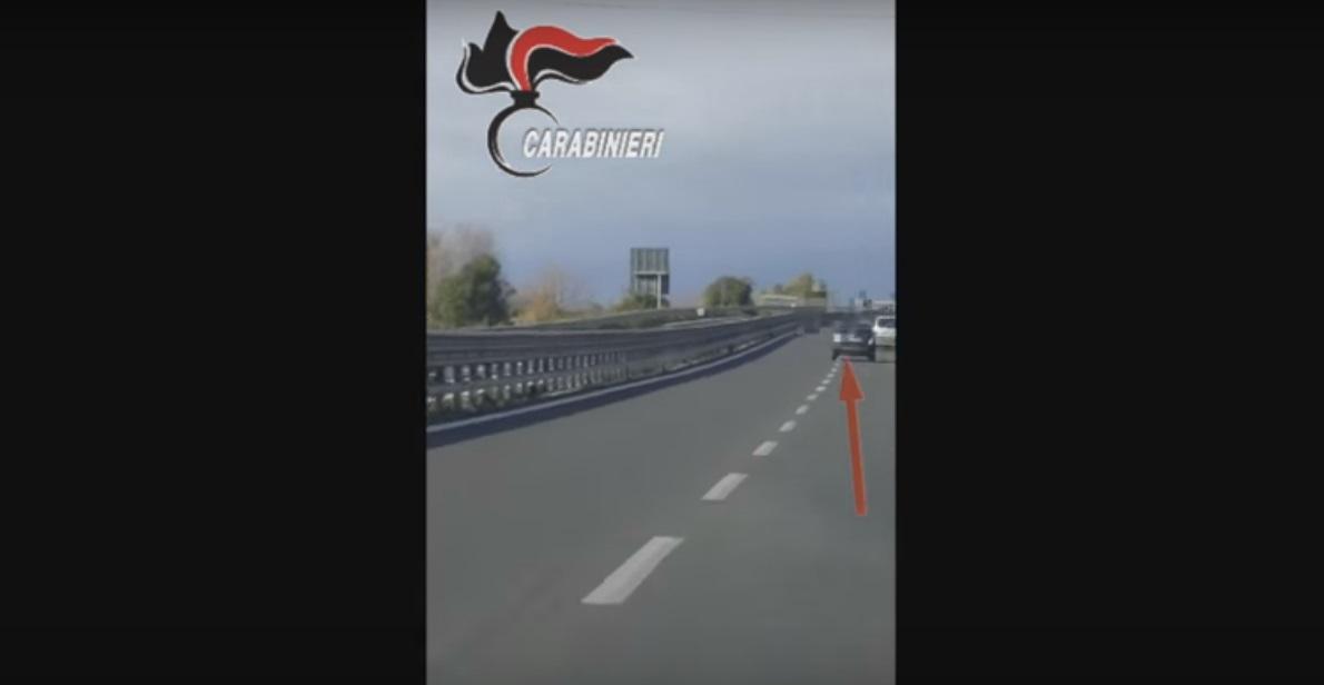Carla Caiazzo, il video con le ultime fasi della fuga del compagno