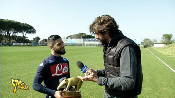 """Tapiro d'oro a Insigne: """"In campionato lotteremo fino alla fine. Conte? Spero mi chiami presto"""""""