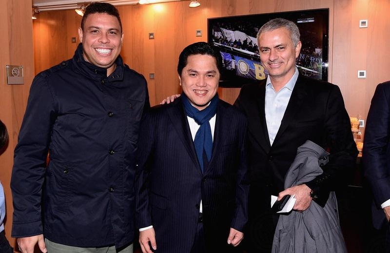 """Mourinho e Ronaldo: """"Per lo scudetto forza Napoli"""""""