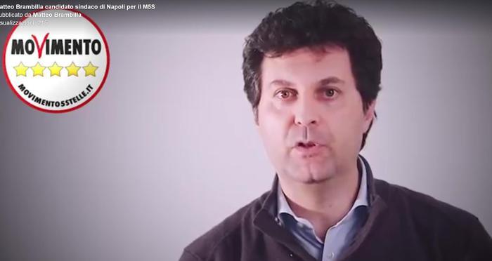 Matteo Brambilla candidato sindaco del M5s a Napoli