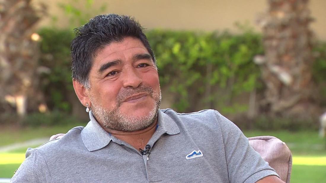 Tutta la carica di Maradona per il Napoli: