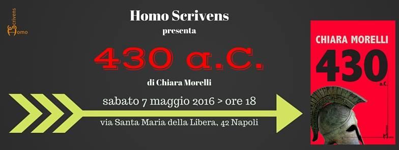 """""""430 a.C."""": la figlia segreta di Pericle nel nuovo romanzo di Chiara Morelli"""