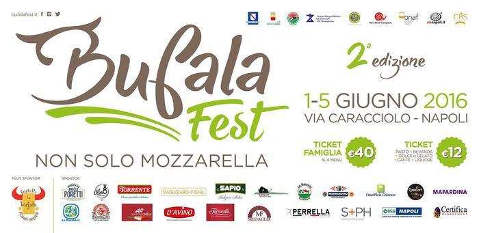 Torna il Bufala Fest sul lungomare di Napoli