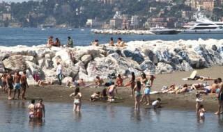 Meteo Campania: temperature fino a 32-33°C