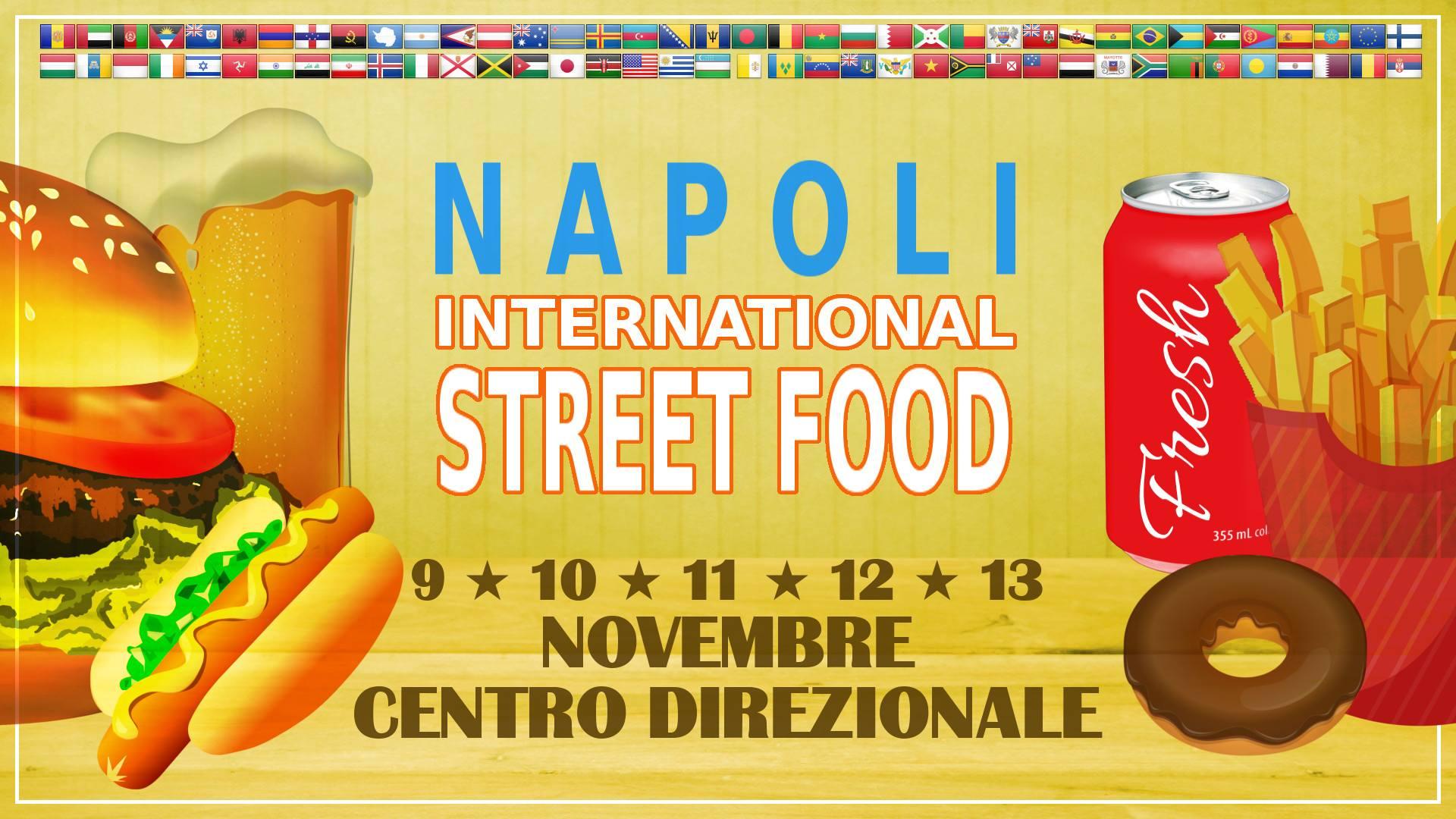 A novembre il Napoli International Street Food