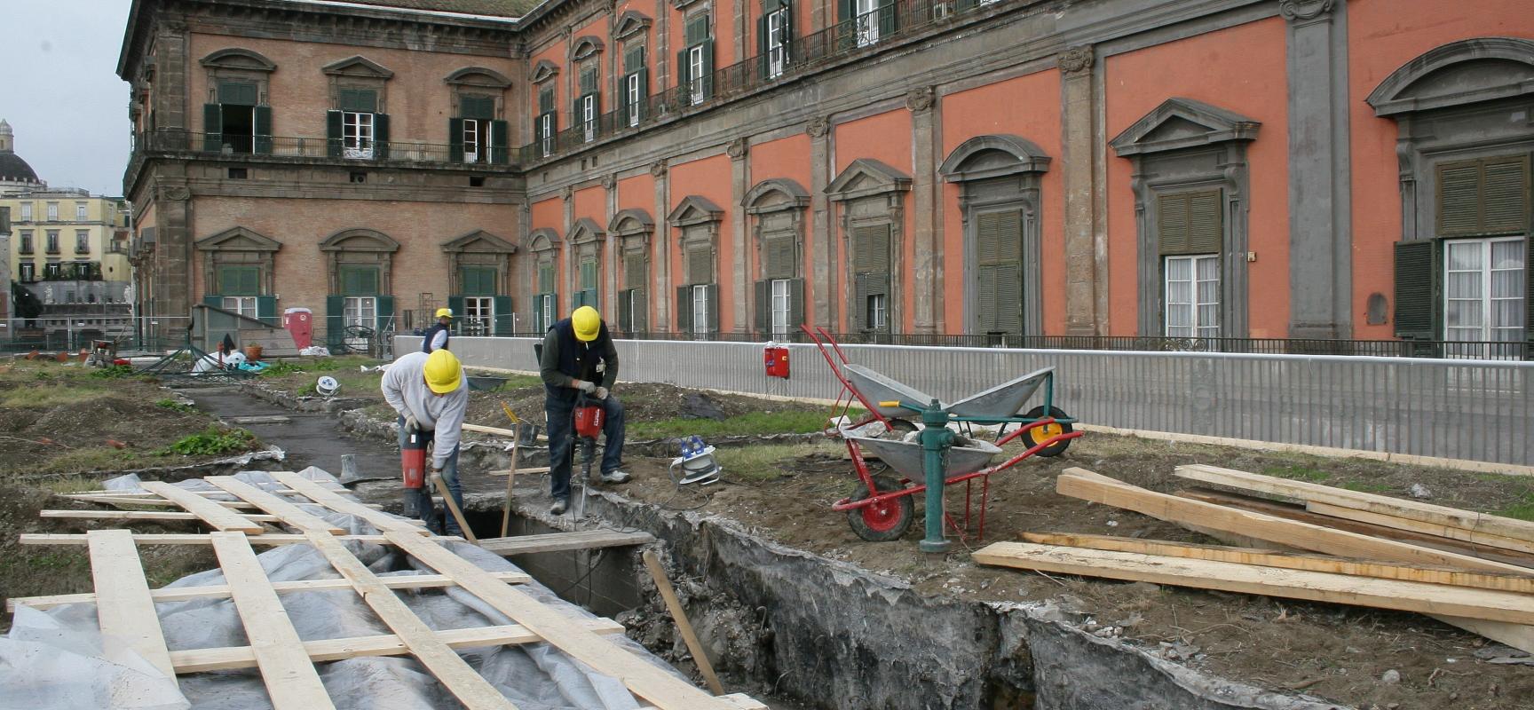 Terminato il restauro dei giardini di Palazzo Reale