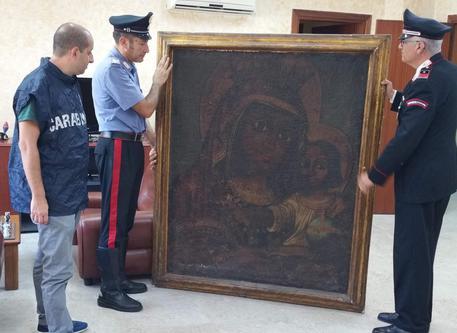 Ritrovato dipinto di Salvator Rosa scomparso 11 anni fa