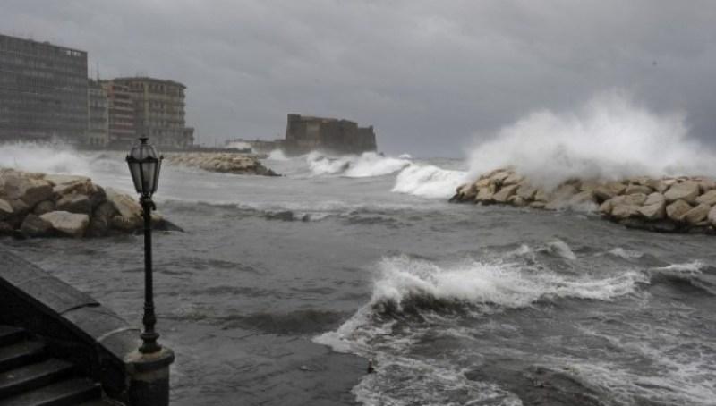 Allerta meteo in Campania fino a venerdì