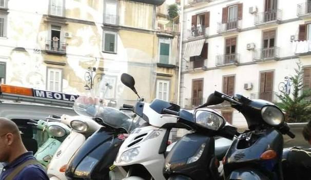 300 scooter sequestrati ai clan nel Napoletano