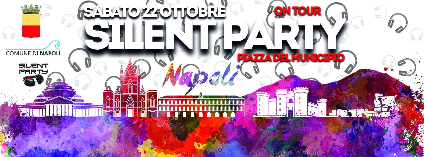 Il 22 ottobre arriva a Napoli il Silent Party, ecco i dettagli dell'evento