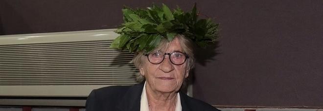 """Laureata con lode a 79 anni: """"Sono qui perché non mi permisero di studiare"""""""