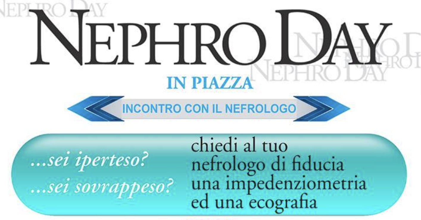 NephroDay in Piazza