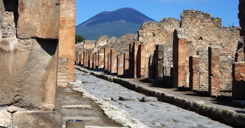 Scavi di Pompei: trovato lo scheletro di un bambino di 7-8 anni