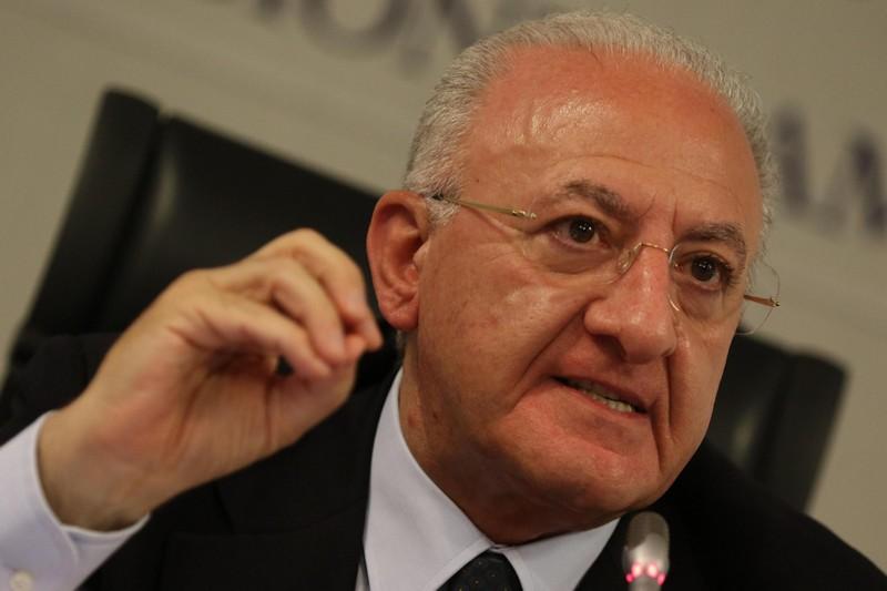 """De Luca: """"Da governo 4 milioni per gli stipendi alla provincia di Caserta"""""""