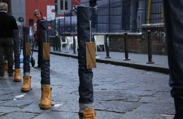 Timberland: il noto marchio invade la città