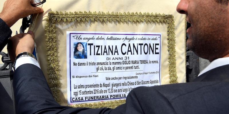 Tiziana Cantone: Gip, supplemento indagine su Fb