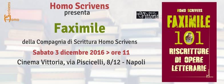 """Da Dante Alighieri a Zerocalcare, 101 riscritture per """"Faximile"""", il 3 dicembre al Cinema Vittoria"""