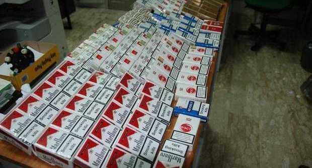 Sigarette di contrabbando sequestrate nel Napoletano
